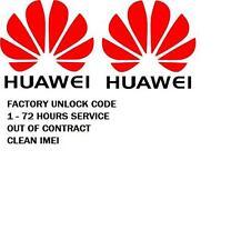 AT&T FACTORY UNLOCK CODE FOR HUAWEI P8MAX  MediaPad X1 Google Nexus 6P 6 P  P6