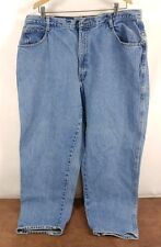 Vtg. Womens Gitano Blue Jeans Light Wash Pants - 36x20