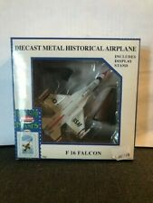 Model Power Postage Stamp Plane F 16 Falcon 1/100 NO. 5399-2 NIB