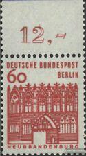 Berlin (West) 247 Oberrandstück postfrisch 1964 Bauwerke