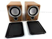 2 x Denon SC-M73 Compact Small HiFi Stereo Bookshelf Loud Speakers - Tested VGC