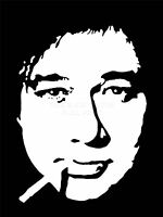 ART PRINT POSTER PAINTING DRAWING COMEDIAN BILL HICKS SMOKING NOFL0060