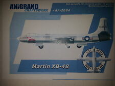 MARTIN XB-48  ANIGRAND 1/72 RESIN KIT