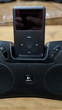 Apple iPod classic 7th Generation Black (160 GB) A1238 W/ Logitech sound bar
