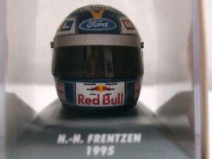 WOW EXTREMELY RARE Helmet Frentzen Arai Sauber Silverstone 1995 1:8 Minichamps