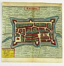 KREMPE STEINBURG DEUTSCHLAND KOL KUPFERSTICH ANSICHT ZEILLER MERIAN 1656 #D863S