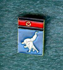 JUDO North Korea Federation Association Stick Old Pin