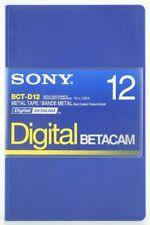 SONY BCT-D12 DIGITAL BETACAM ProfessionalVideoCassette small NEU(world*)000-289°