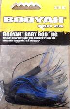 Booyah Baby Boo Jig 3/16 oz - Black/blue - Bass Yellow Belly Lure