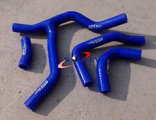 For HONDA CRF450 CRF450R CRF 450 R 2013 2014 13 14 BLUE Silicone Radiator Hose