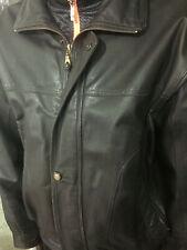 giubbotto di pelle modello aviatore marrone scuro tag 52 come nuovo perfetto