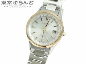 CITIZEN Exceed Eco-Drive H060-T023568 New Watch Solar Ladies Titanium Pink Gold