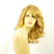 Perruque femme mi-longue blond clair doré MAELYS LG26