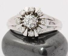 ♦ 585 14kt Damen Weißgold Brillantring Gold Brillant Brilliant Ring Brillanten ♦