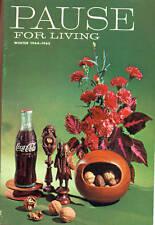 PAUSE FOR LIVING Winter 1964-1965 Coca-Cola magazine