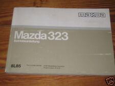Betriebsanleitung Mazda 323, Stand 1997