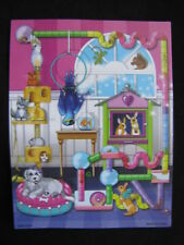 NEW! Fisher Price Loving Family Dollhouse PETS BACKDROP Background Pet Care Room