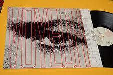 RENATO ZERO LP VOYEUR 1°STAMPA ORIGINALE 1989 EX CON INNER  TESTI label chiara !