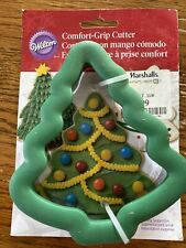 New Wilton Christmas Tree Cookie Cutter with Comfort Grip