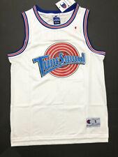 Space Jam Michael Jordan #23 TuneSquad Basketball Jersey Maillots Cousu Blanc