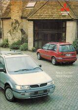 Mitsubishi Space Runner & Space Wagon 1995-96 UK Market Sales Brochure