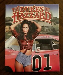 "Canvas Print Daisy Duke THE DUKES OF HAZZARD Season 5 DVD Art 8""x10"""