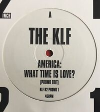 "THE KLF -America:What Time Is Love- UK Promo Edit 12"" (Jams/Jamms/Vinyl/Record)"