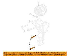 GM OEM Alternator-Mount Bracket Lower Bolt 11516744
