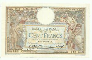 100 FRANCS LUC OLIVIER MERSON 05/11/1931 BEAU BILLET
