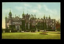 RAILWAY GNR official Stately Homes Series Herts Knebworth House PPC