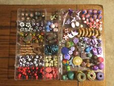 Lot of Polymer Clay  Beads with Hole  Hand Made