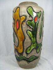 """RARE 70´s design Scheurich Keramik VASO """"Psychodelic"""" smooth Glaze 517 - 50"""