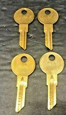 Willys AMC Rambler Nash Key Blanks lot of 4 Curtis  B-1 1098GM 98M Made in USA