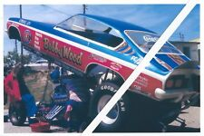 1970's Drag Racing-Bobby Wood-1972 Chevy Vega AA/Funny Car-Blown Injected Hemi