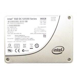 """Intel S3500 Series SSDSC2BB080G4 80GB SATA 2.5"""" Solid State Drive (SSD)"""
