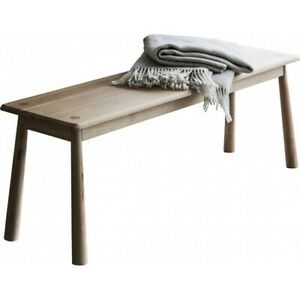 New - Elsker Wycombe dining bench Washed Oak