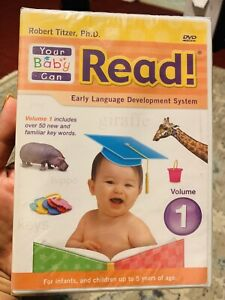 Your Baby Can Read DVD Rober Titzer, Ph.D. 9781591258162 ** SEALED**