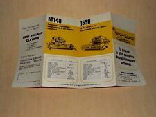 Prospectus Gamme Moissonneuse CLAYSON  Tracteur Tractor Traktor Prospekt