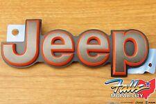 2016 Jeep Compass Patriot Front Hood Bronze Emblem Mopar OEM