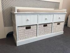 unit/à Shoe corridoio Vintage Window Seat cassetti Bagno Home Delights Ltd Shabby Chic Panca portaoggetti