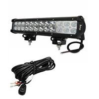 1X 12inch 72W CREE LED Work Light Bar SPOT Flood offroad lamp ATV SUV 4WD 120W