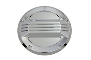 Chrome Air Flow Clutch Derby Cover for Harley Touring 16-18 FLHT FLHR