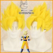 Dragon Ball Z GOKU Golden Blonde cosplay Anime Style Hair Wigs
