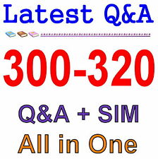 Cisco Best Practice Material For 300-320 Exam Q&A PDF+SIM