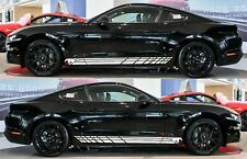 Sticker Decal Side Door Stripes for Ford Mustang GT Diffuser Window Louver Sport