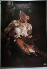 Wendy O'Williams Plasmatics Vintage Poster 1980's Music Pin-Up Chainsaw Guitar