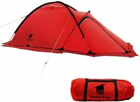 Nice Tent Camping 2 Person 4 Season Winter PU8000mm Weather Resistant Durable