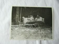 Ih International Harvester Stock Photo Td 24 Crawler Tractor Tree Clearing 8x10