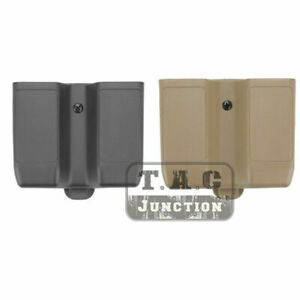 Quick Draw Double Magazine Mag Pouch Case Stack Duty Belt For SIG SAUER P226
