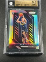 MICHAEL PORTER JR 2018 PANINI PRIZM #32 SILVER REFRACTOR ROOKIE ALL BGS 9.5 SUBS